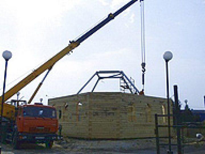В А-Судженске строится храм в честь Собора Сибирских святых