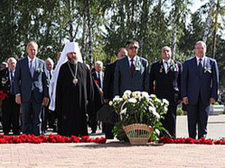 Митрополит Аристарх принял участие в областных торжествах, посвященных Дню шахтера