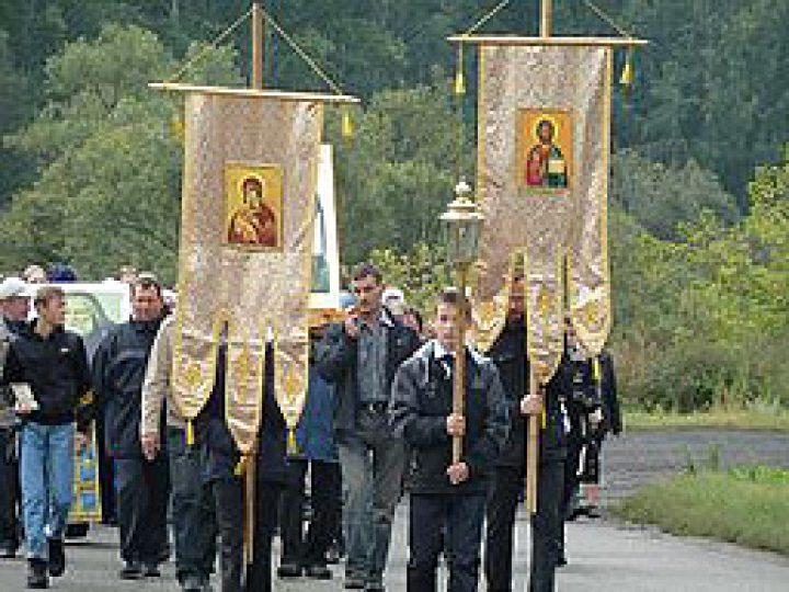 В Новокузнецком районе прошел крестный ход, приуроченный ко дню памяти Собора Кемеровских святых