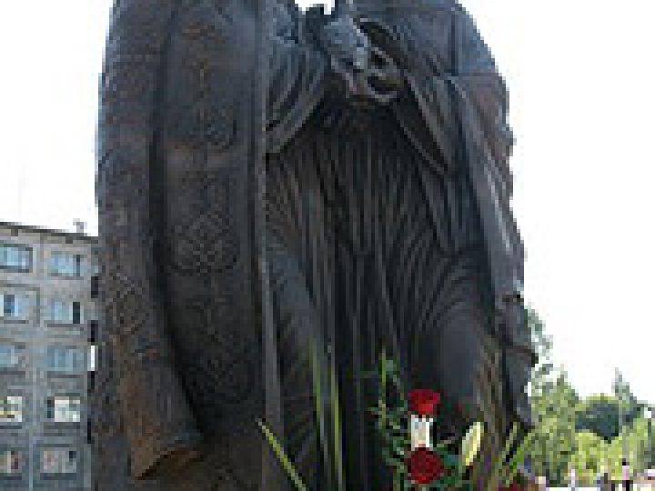 В Мысках открыта скульптурная композиция святым Петру и Февронии Муромским