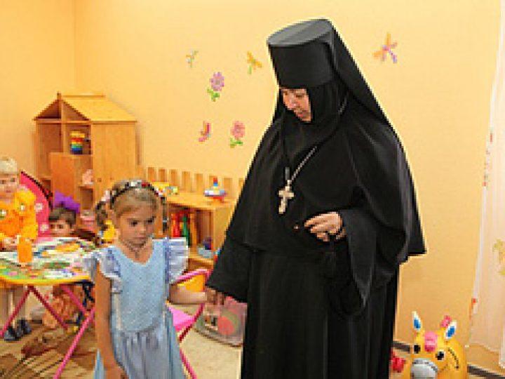 В Детском доме при монастыре в Елыкаево теперь будут воспитываться и младенцы
