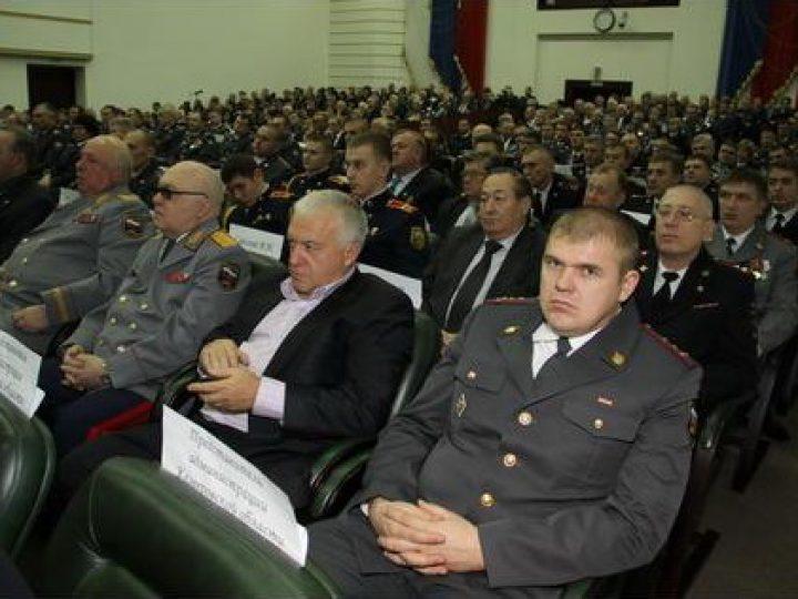 Митрополит Аристарх принял участие в  торжественном приеме, посвященном Дню сотрудников органов внутренних дел