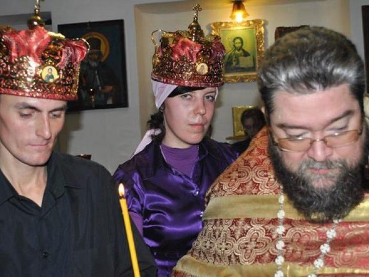 В исправительной колонии Белова совершено первое в ее истории Таинство венчания