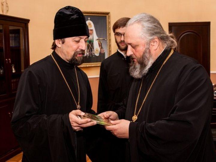 Митрополит Аристарх провел встречу с протоиереем Максимом Козловым