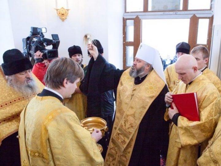 Управляющий Кемеровской епархией освятил часовни на двух шахтах в Прокопьевском районе