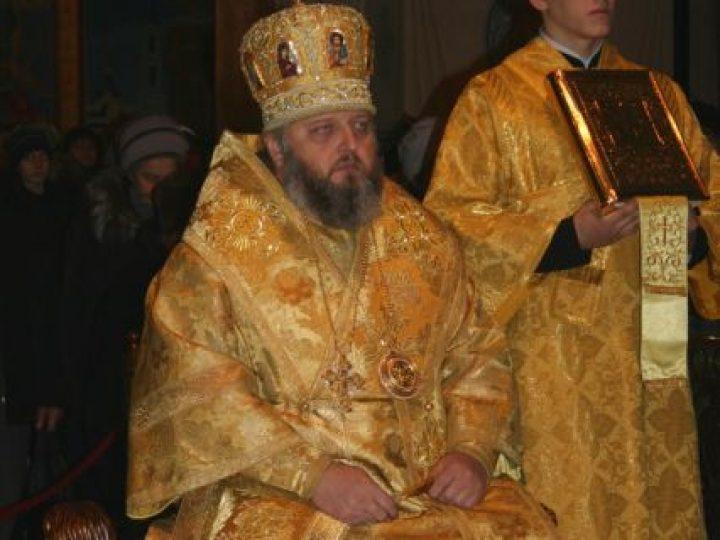 В неделю 24-ю по Пятидесятнице митрополит Аристарх совершил Литургию в Знаменском соборе