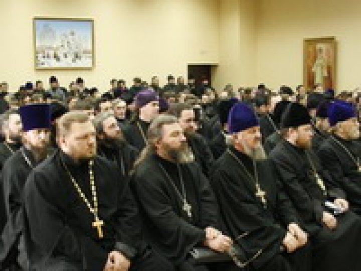 В Кемеровском епархиальном управлении состоится ежегодное собрание епархиального духовенства