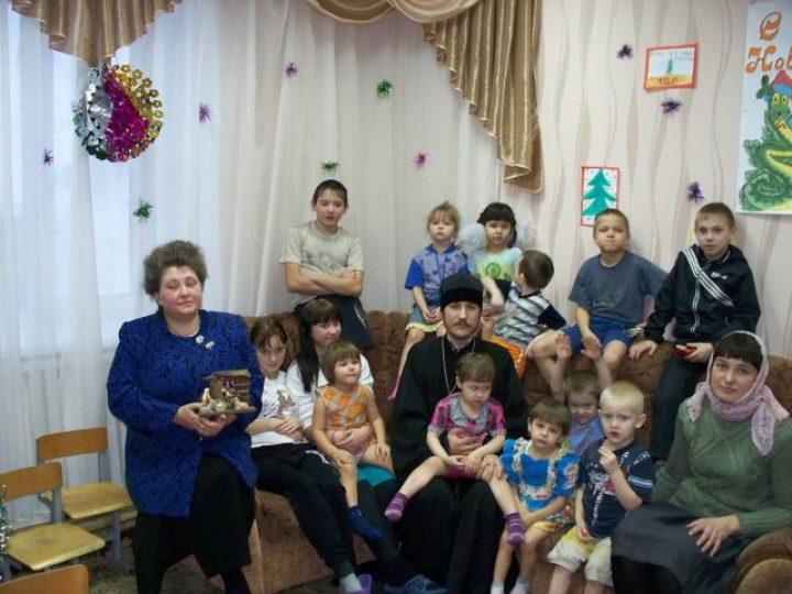 В социальном приюте для детей и подростков Л–Кузнецкого района начали изучать Основы православной культуры