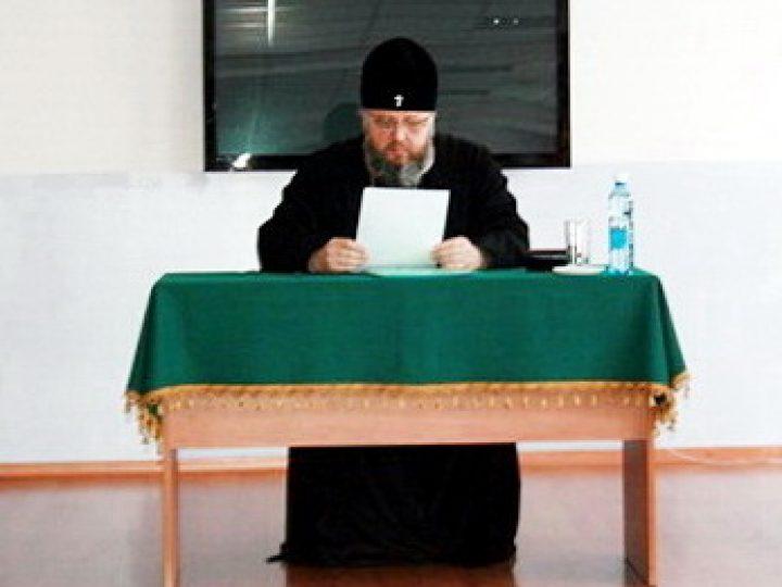 Управляющий Кемеровской епархией побывал с архипастырским визитом в Кузбасской семинарии