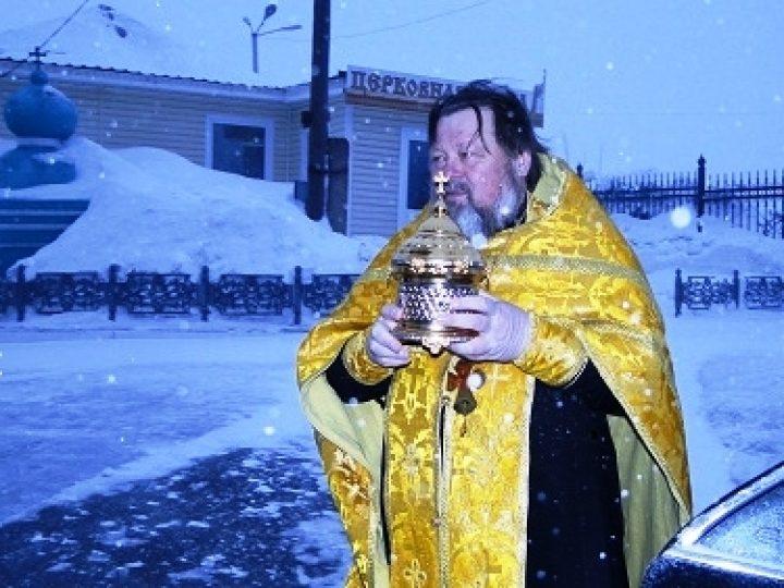 Ковчег с частицей мощей святителя Луки (Войно-Ясенецкого) прибыл в Анжеро-Судженск