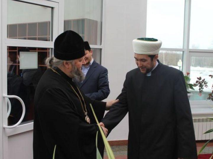 Состоялась традиционная дружественная встреча главы Кузбасской митрополии с муфтием Кемеровской области