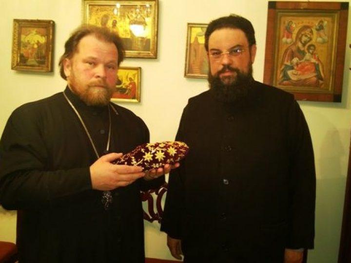 Элладская Православная Церковь передала в дар Кузбасской митрополии тапочку с ноги святителя Спиридона Тримифунтского