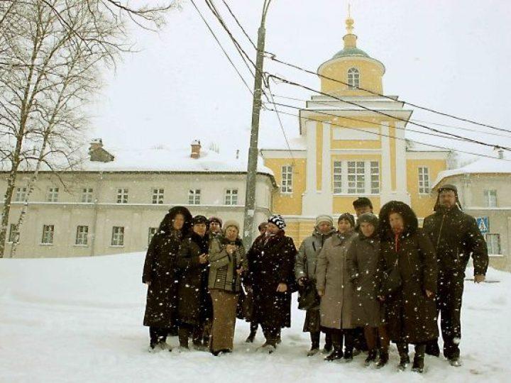 Верующие кузбассовцы вернулись из паломничества по маршруту Москва-Муром-Дивеево