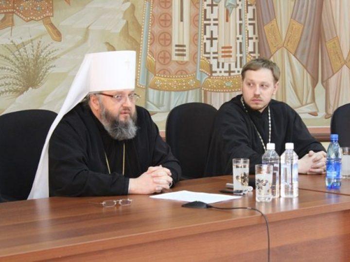 Митрополит Аристарх провел встречу со студентами вузов кузбасской столицы