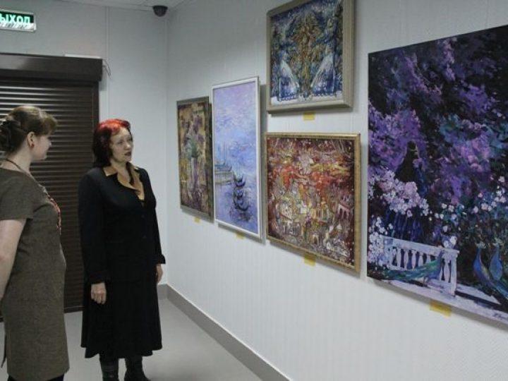 В Епархиальном музее открылась выставка картин кемеровских живописцев под названием «Божий мир глазами художников»