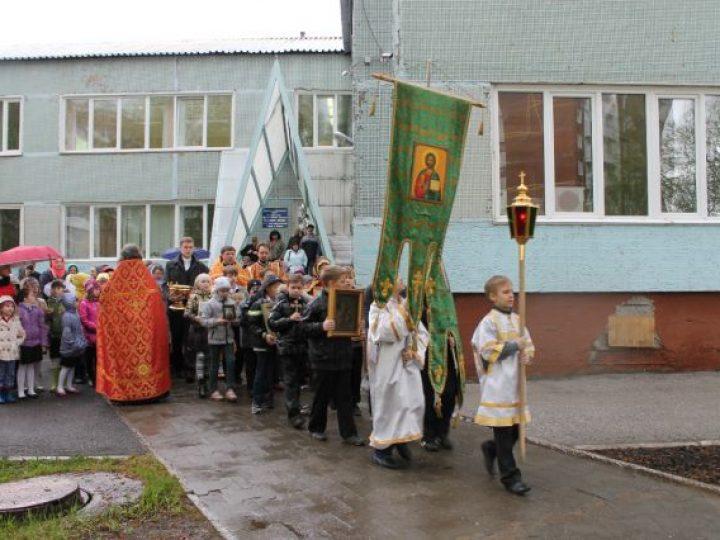 Домовый храм при православной гимназии Кемерова отметил свой престольный праздник