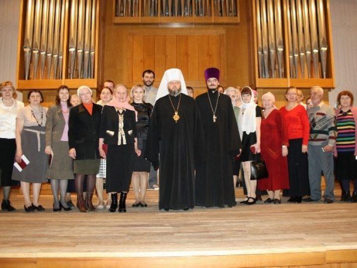 Состоялся выпускной акт для слушателей богословских курсов Кемеровской епархии