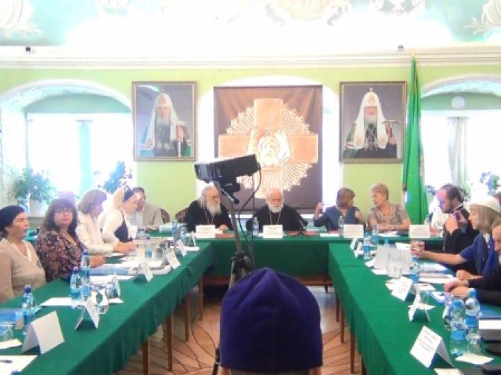 Директор богословских курсов Новокузнецка принял участие в заседании круглого стола, прошедшего в Московской Духовной академии