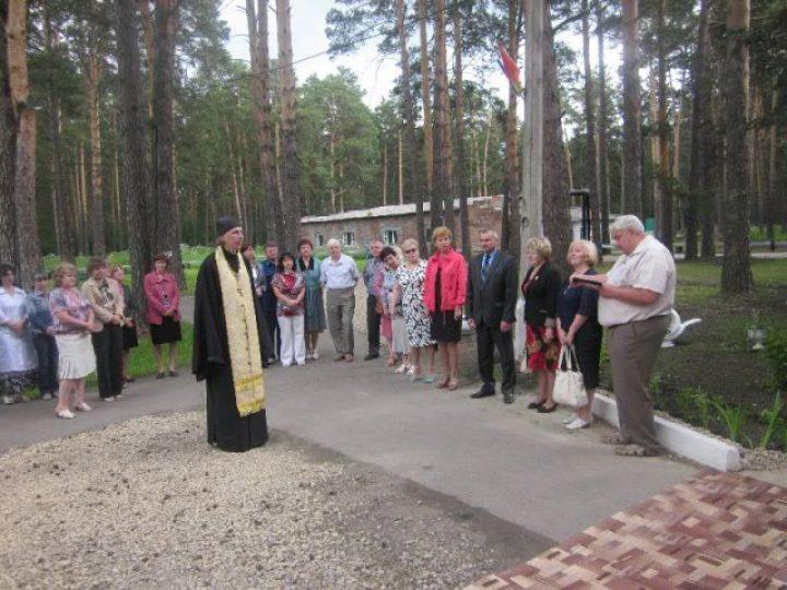В Юргинском доме–интернате для престарелых и инвалидов открылось Отделение милосердия