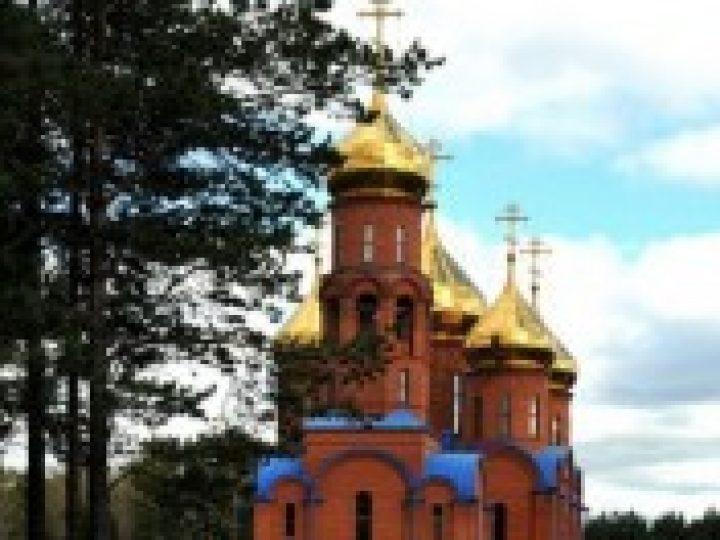 Митрополит Аристарх совершил Божественную литургию в соборе Рождества Иоанна Крестителя в Прокопьевске