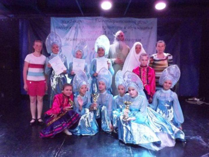 Воспитанницы детского дома при монастыре в Елыкаево вошли в число победителей Международного фестиваля-конкурса искусств
