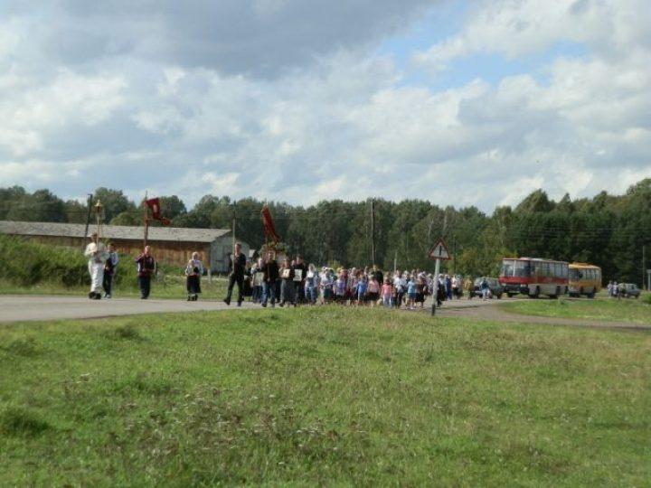 В Юргинском районе состоялся молитвенный крестный ход об избавлении людей от вредных зависимостей