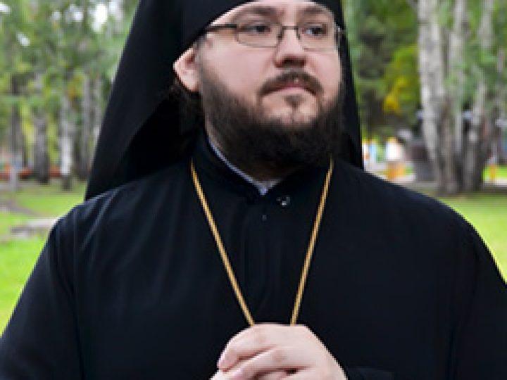 Святейший Патриарх Кирилл, митрополит Аристарх и губернатор А.Г. Тулеев поздравили епископа Мариинского Иннокентия с 40-летием со дня рождения