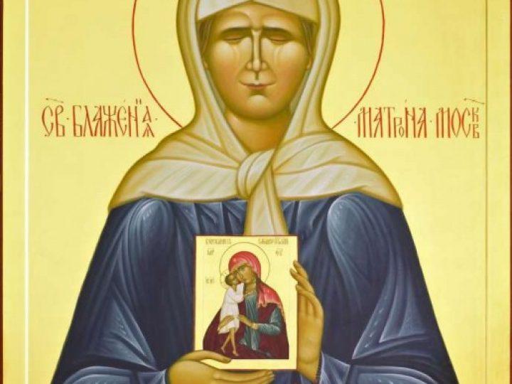 В шахтерский храм Кузбасса принесена икона блаженной Матроны Московской с частицей ее мощей