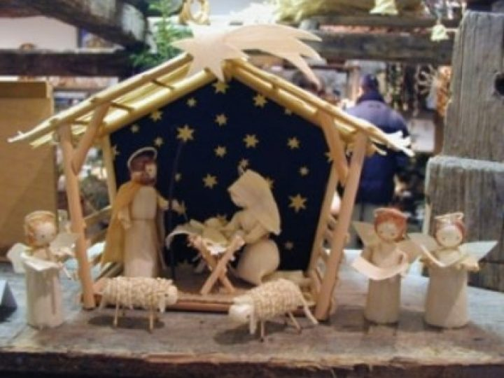 Вертеп рождественский как сделать