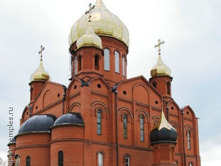 В неделю 23-ю по Пятидесятнице митрополит Аристарх совершил Литургию в Знаменском соборе