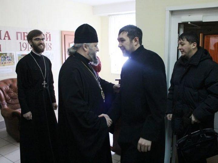 Глава Кузбасской митрополии провел встречу с муфтием Кемеровской области