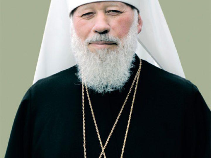 Митрополит Аристарх вознес молитву об упокоении митрополита Киевского Владимира
