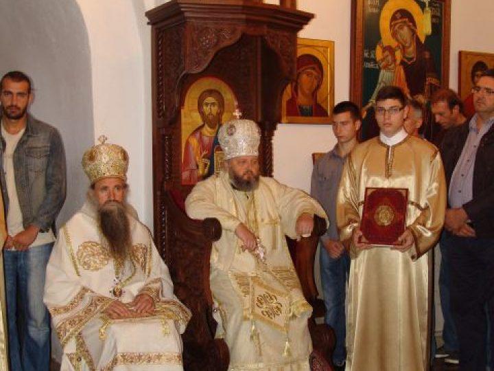Митрополит Аристарх совершил Литургию в монастыре республики Черногория