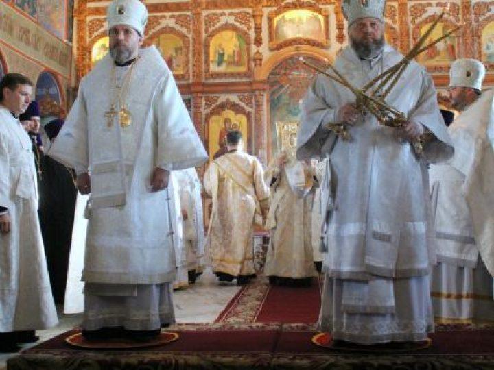 Митрополит Аристарх и епископ Владимир совершили первую совместную Божественную литургию