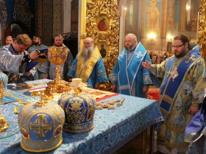 Знаменский кафедральный собор отметил престольный праздник