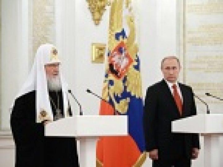 Глава Кузбасской митрополии присутствовал в Кремле на торжественном приеме от имени Президента России
