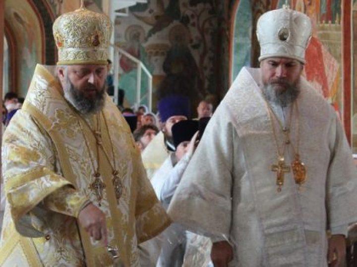 В праздник Преображения Господня митрополит Аристарх возглавил служение Литургии в главном храме Новокузнецкой епархии