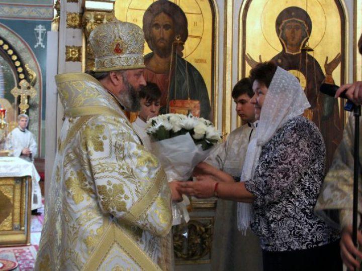Глава Кузбасской митрополии отметил 9-ю годовщину со дня архиерейской хиротонии