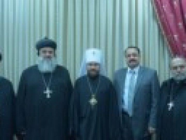 Завершился визит Главы Сиро-Яковитской Церкви в Россию
