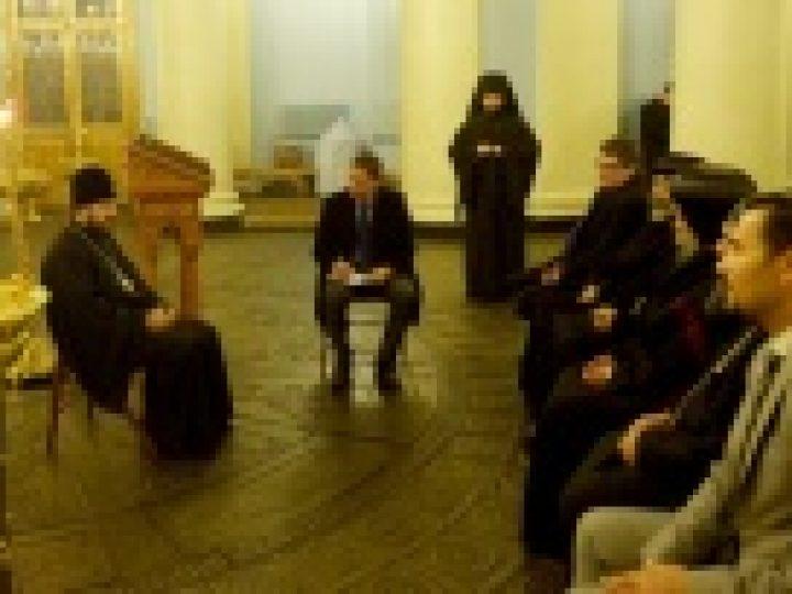 Состоялась встреча митрополита Волоколамского Илариона с иерархами Коптской Церкви