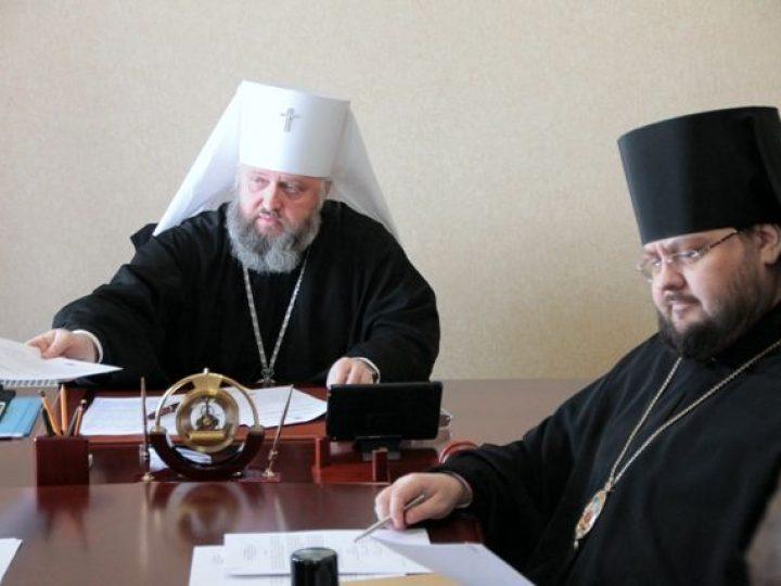 Состоялся первый в 2016 году Архиерейский Совет Кузбасской митрополии