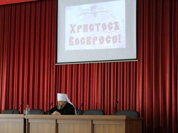 Управляющий Кемеровской епархией посетил Кузбасскую духовную семинарию