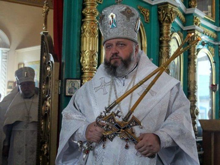 В праздник Вознесения Господня митрополит Аристарх совершил Литургию в Вознесенском храме Белова