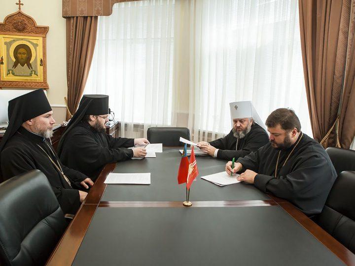 Состоялось очередное заседание Архиерейского совета