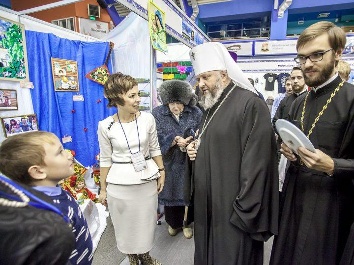 Открылась II Международная православная выставка-ярмарка «От покаяния к воскресению России»