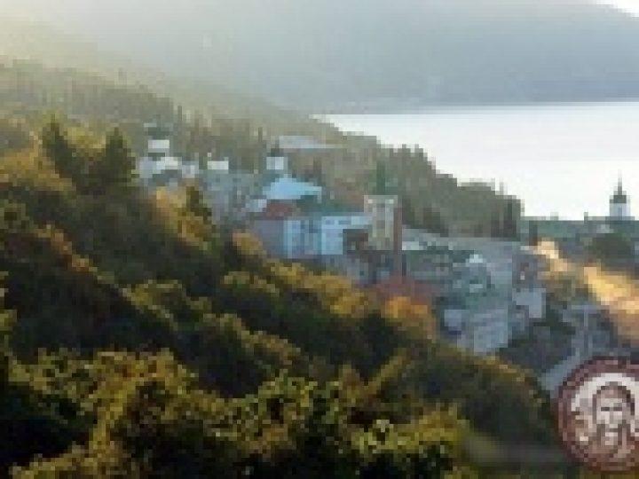 Избран новый игумен Русского Пантелеимонова монастыря на Афоне