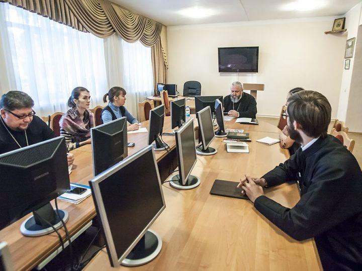 Митрополит Аристарх прочитал лекцию по догматическому богословию студентам КемГИКа