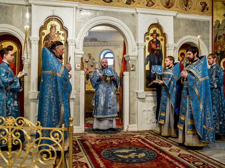 Митрополит Аристарх совершил Литургию в воскресный день