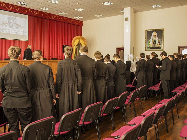 Митрополит Аристарх провел рабочий день в семинарии