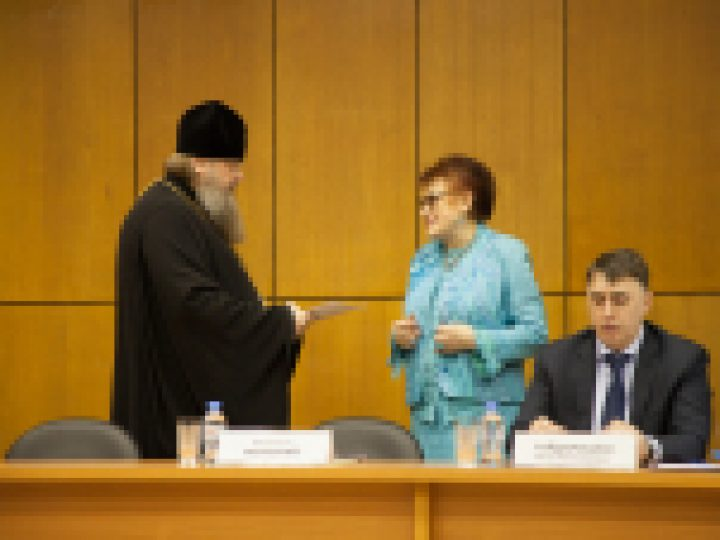 Председатель Синодального отдела религиозного образования принял участие в заседании президиума Российской академии образования